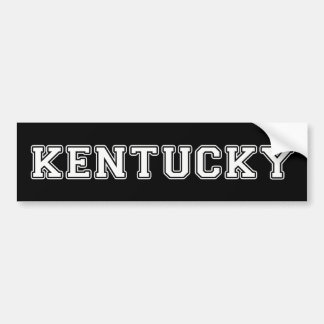 Kentucky Bumper Sticker