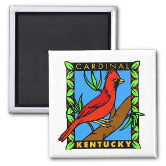 Kentucky Cardinal Magnet