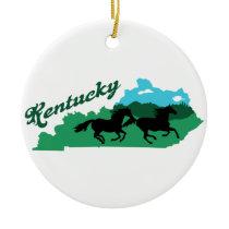 Kentucky Ceramic Ornament