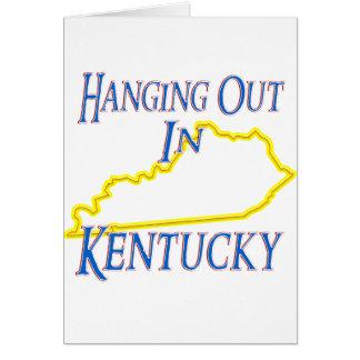 Kentucky - colgando hacia fuera tarjetas