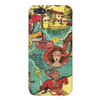 Kentucky Comic Book  Case For iPhone 5