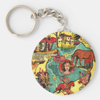 Kentucky Comic Book Cover Key Chains
