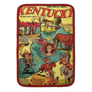 Kentucky Comic Book Cover MacBook Air Sleeve