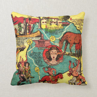 Kentucky Comic Book Cover Pillow