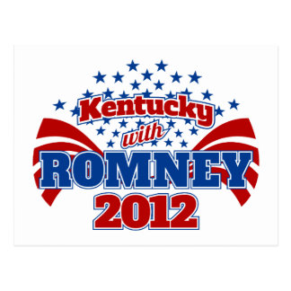 Kentucky con Romney 2012 Postal
