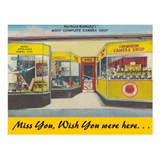 Kentucky, Covington Camera Shop Postcard