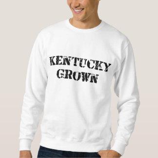 Kentucky crecido negro sudadera