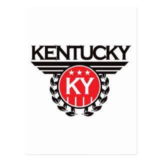 Kentucky Crest Design Postcard