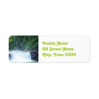 Kentucky Dam Label