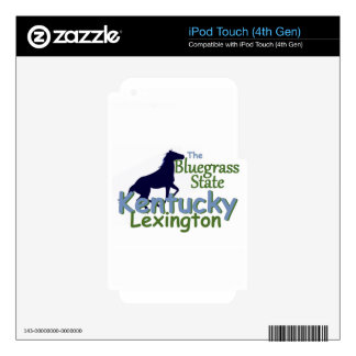 KENTUCKY DECAL FOR iPod TOUCH 4G