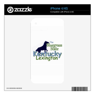 KENTUCKY DECALS FOR iPhone 4