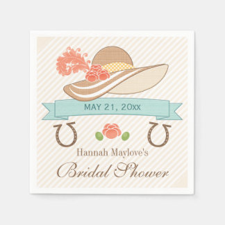 Kentucky Derby Bridal Shower Napkin