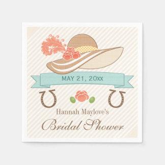Kentucky Derby Bridal Shower Napkin