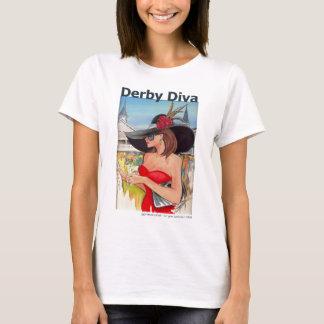 Kentucky Derby Diva - Baby Doll Tshirt