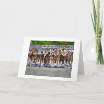Kentucky Derby Greeting Card
