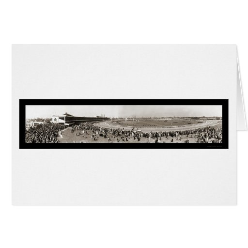 Kentucky Derby Photo 1940 Greeting Card
