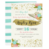 Kentucky Derby Style Bridal Shower Invitation