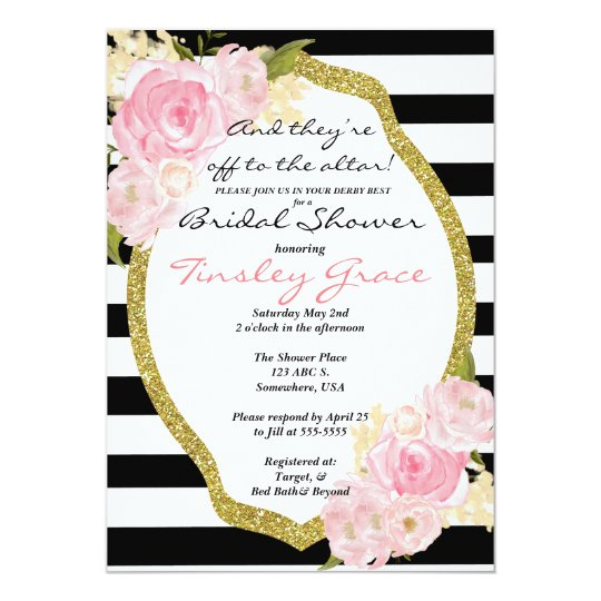 Kentucky derby theme shower invitation zazzle kentucky derby theme shower invitation filmwisefo
