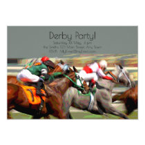 Kentucky Derby Viewing Party Invitation