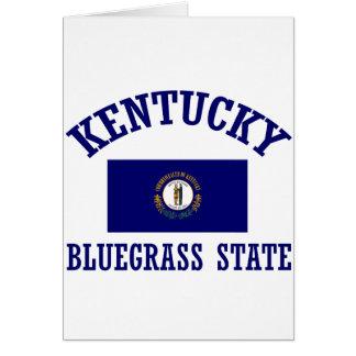 Kentucky design card