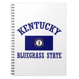 Kentucky design spiral note book