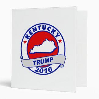 kentucky Donald Trump 2016.png Vinyl Binders