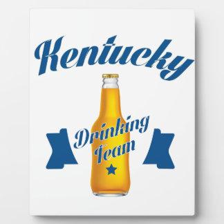 Kentucky Drinking team Plaque