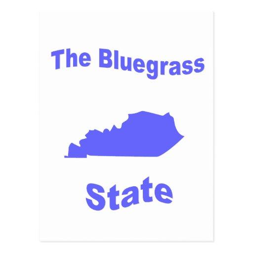 Kentucky: El estado del Bluegrass Tarjeta Postal