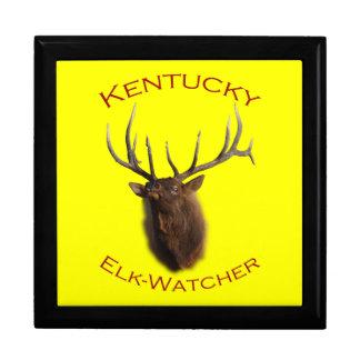 Kentucky Elk-Watcher Jewelry Box