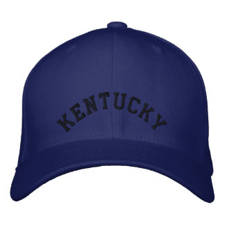 Kentucky Embroidered Baseball Cap/Hat Embroidered Baseball Cap