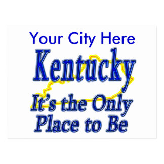 Kentucky es el único lugar a ser postales