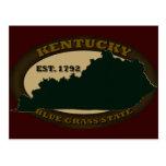 Kentucky Est. 1792 Tarjetas Postales
