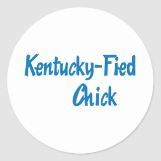 Kentucky-Fied Chick Stickers