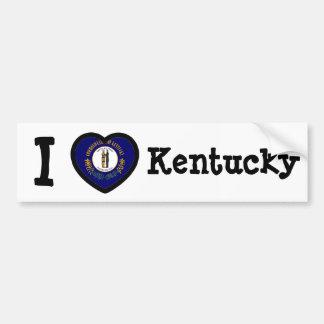 Kentucky Flag Bumper Sticker