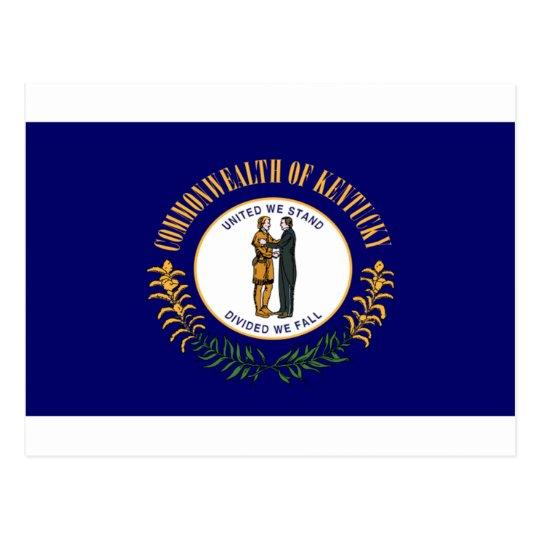 Kentucky Flag Postcard
