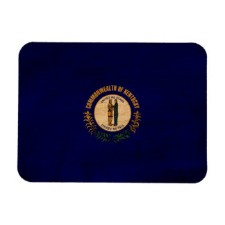 Kentucky Flag Rectangular Photo Magnet