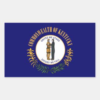 Kentucky Flag Rectangular Sticker