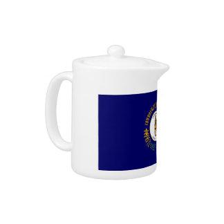 Kentucky Flag Teapot
