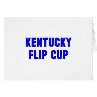 Kentucky Flip Cup Card