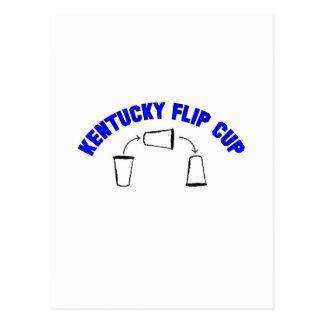Kentucky Flip Cup Postcard