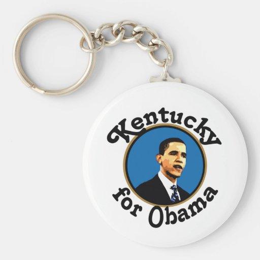 Kentucky for Obama keychain
