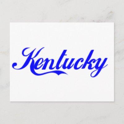 Kentucky Gifts postcard $ 1.05