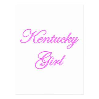 Kentucky Girl Postcard