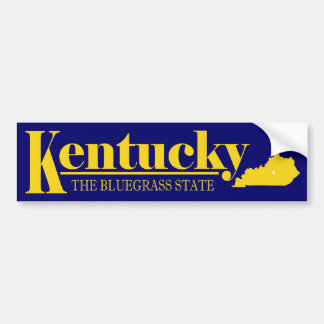 Kentucky Gold Bumper Stickers