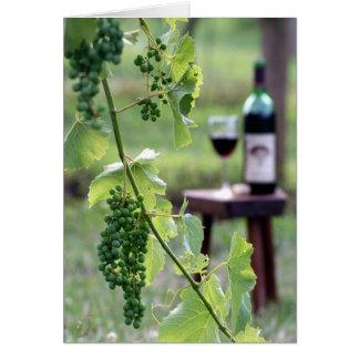 Kentucky Grapes Card