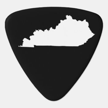Kentucky Guitar Pick by silhouette_emporium at Zazzle