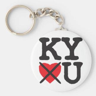 Kentucky Hates You Key Chain