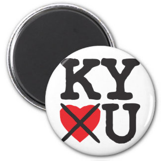 Kentucky Hates You Magnet