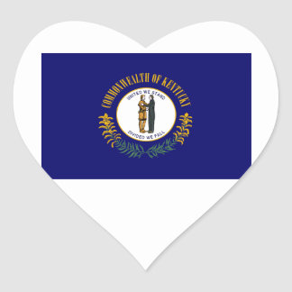 Kentucky Heart Sticker