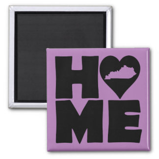 Kentucky Home Heart State Fridge Magnet